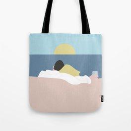 Feelings into sunset Tote Bag