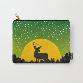 Deer Stars Moon Carry-All Pouch