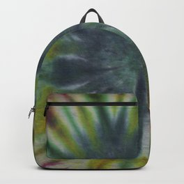 Tie Dye Pink Green Yellow Black 11 Backpack
