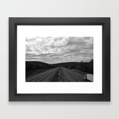 I-66 Framed Art Print