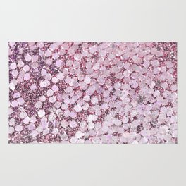 Mermaid Scales Blush Rug