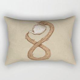 Infinite Tea Rectangular Pillow