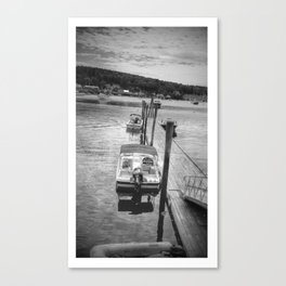 "Boothbay Harbor, Maine ""Dock"" Canvas Print"