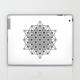 Star tetrahedron, sacred geometry, void theory Laptop & iPad Skin