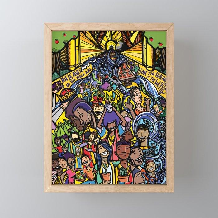 Revelation 22 Framed Mini Art Print