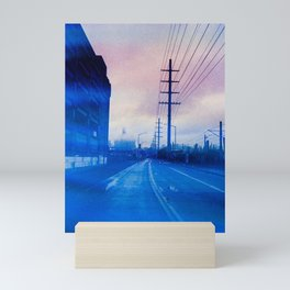 Faded Seattle Mini Art Print
