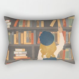 Library Love Rectangular Pillow