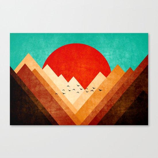 Mountains XXI Canvas Print