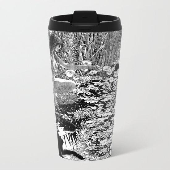 asc 534 - La Dame du lac (Viviane) Metal Travel Mug