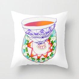 My Cup of Tea Throw Pillow