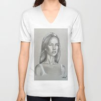 flawless V-neck T-shirts featuring Flawless  by Lyubomir Dochev
