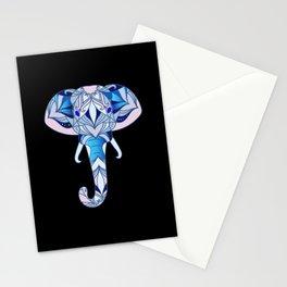 Elephant Mandala Animals Yoga Animal Art Gift Stationery Cards