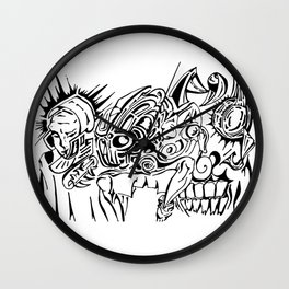 Future Trauma Wall Clock