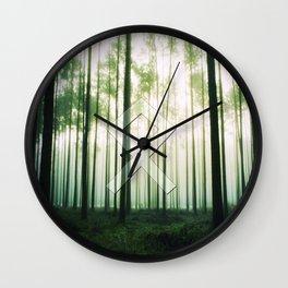 Othala (rune, means Home.) Wall Clock