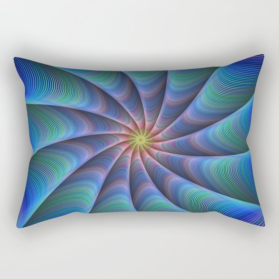 Path to meditation Rectangular Pillow
