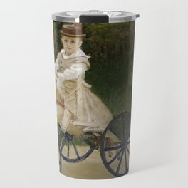 Jean Monet on his Hobby Horse Travel Mug