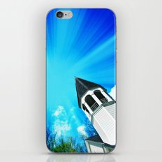 Here Is The Church, Here Is The Steeple iPhone & iPod Skin