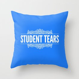 Student Tears Throw Pillow