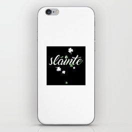Slainte St. Patricks Day Drinking Irish iPhone Skin