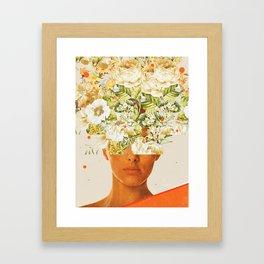 SuperFlowerHead Framed Art Print
