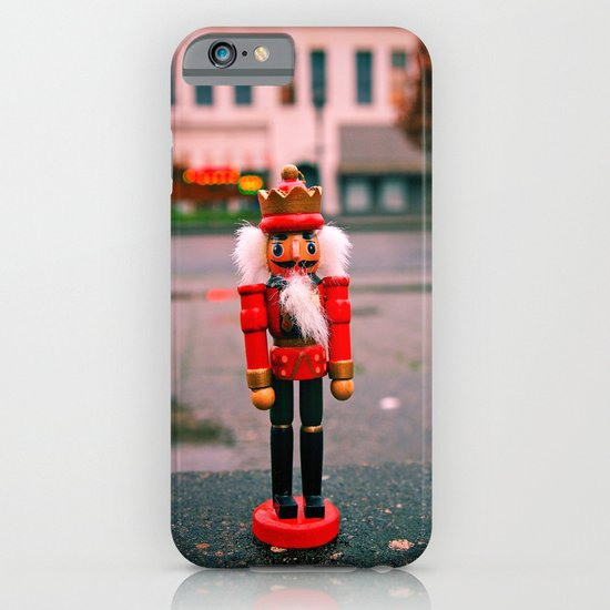Sidewalk nutcracker iPhone & iPod Case