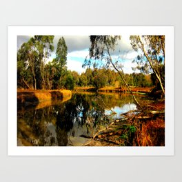 Reflective Light Art Print