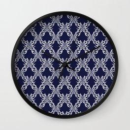 Modern demask pattern Wall Clock