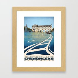 Chenonceau of France Framed Art Print