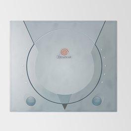 Sega Dreamcast console artwork Throw Blanket