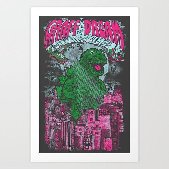 Graff Dream Art Print