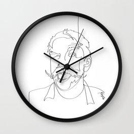 John hurt Wall Clock