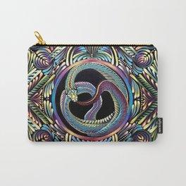 Ouroboros Mandala Carry-All Pouch