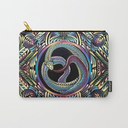 Ouroboros Mandala Carry-All Pouch