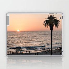 Moonlight Beach Sunset Laptop & iPad Skin