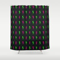 girls Shower Curtains featuring Girls by Derek Eads