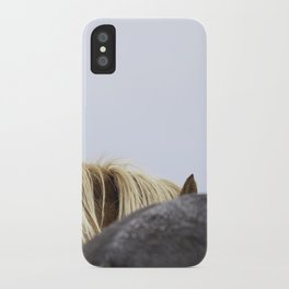 Icelandic Horses iPhone Case