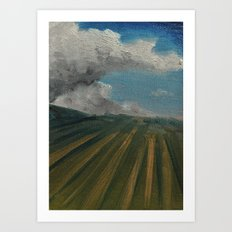Cloud Farm Art Print