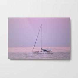 Yachting Metal Print