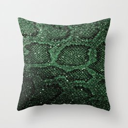 Snakes Pattern Throw Pillow