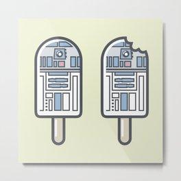 R2 Popsicle Times Two Metal Print