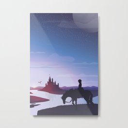 Prince Todoroki Landscape Metal Print