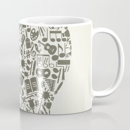 Head art Coffee Mug