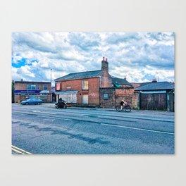 Street Photography, Norwich, U.K Canvas Print