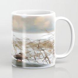 Ducks On A Pond Coffee Mug