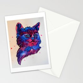 Galaxy Cat Stationery Cards