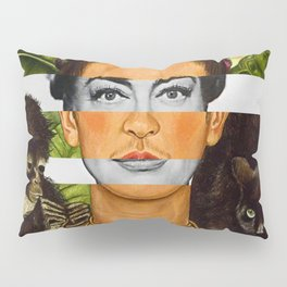 """""""Self Portrait with Thorn Necklace"""" & Joan Crawford Pillow Sham"""