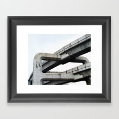 Concrete O1 Framed Art Print