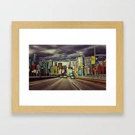 Vancouver Framed Art Print