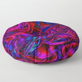 Blacklight Floor Pillow