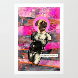 Divine Dogs -- Mastiff Art Print